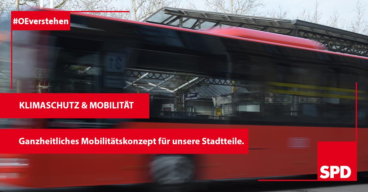 Grafik zum Mobilitätskonzept mit der SPD in Oer-Erkenschwick