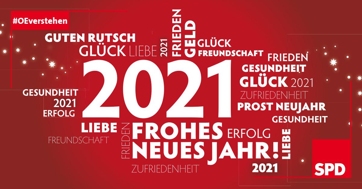 Silvestergruß 2020 SPD Oer-Erkenchwick