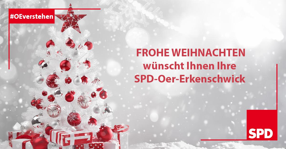Weihnachtsgruss 2020 SPD Oer-Erkenschwick