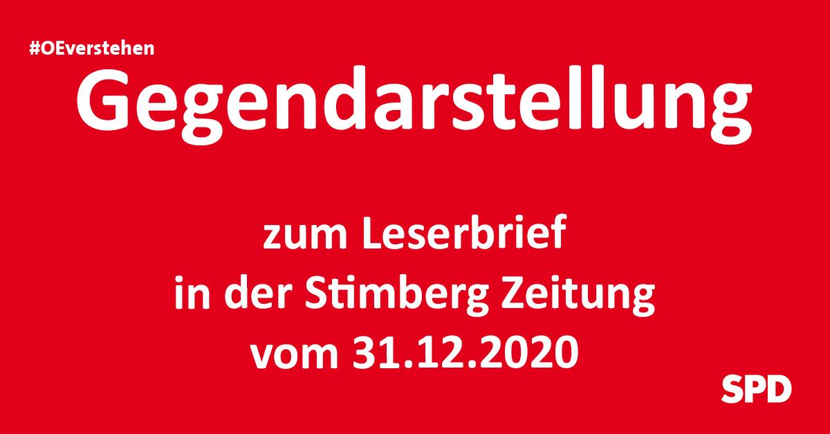 Gegendarstellung zum Leserbrief in der Stimberg Zeitung zur Lokomotive und den Bergbau- & Geschichtsverein Oer-Erkenschwick
