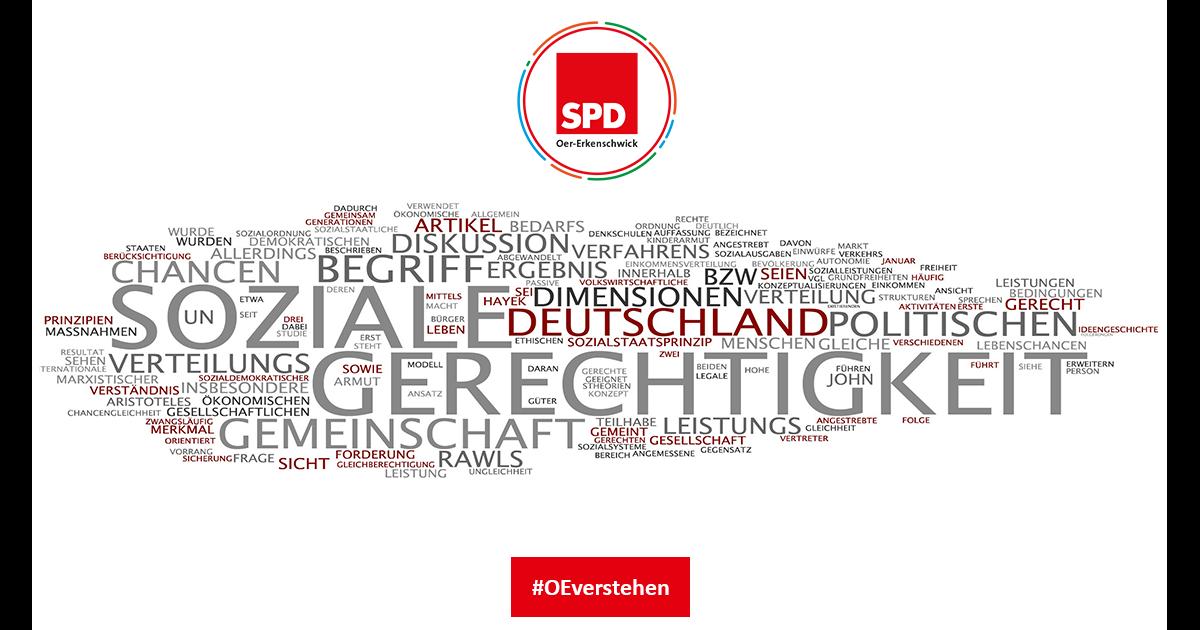 Soziale Gerechtigkeit und soziale Politik - SPD Oer-Erkenschwick für soziale Politik im Stadtrat Oer-Erkenschwick