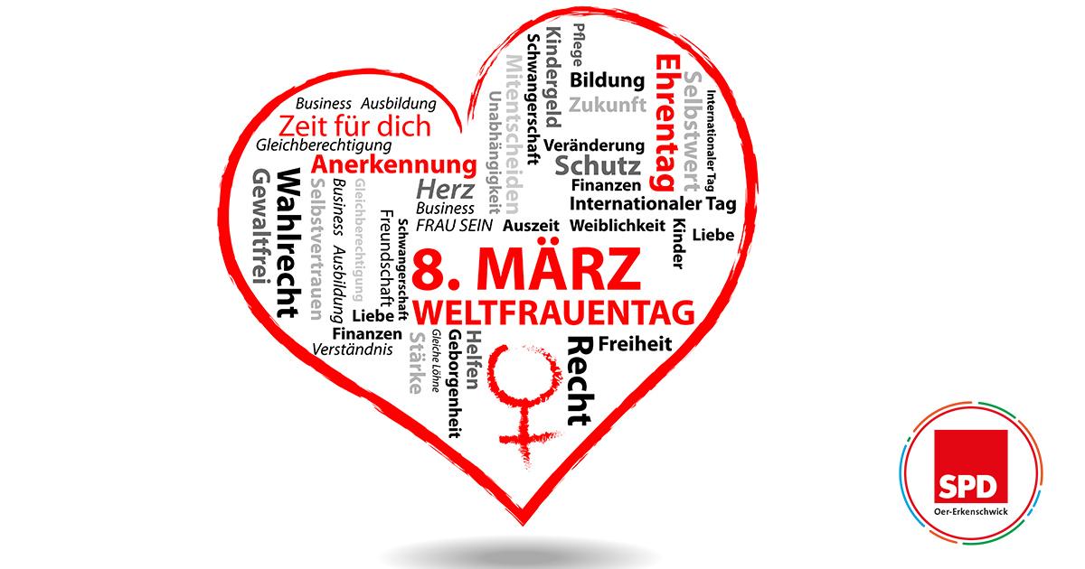 Weltfrauentag SPD Oer-Erkenschwick 2021
