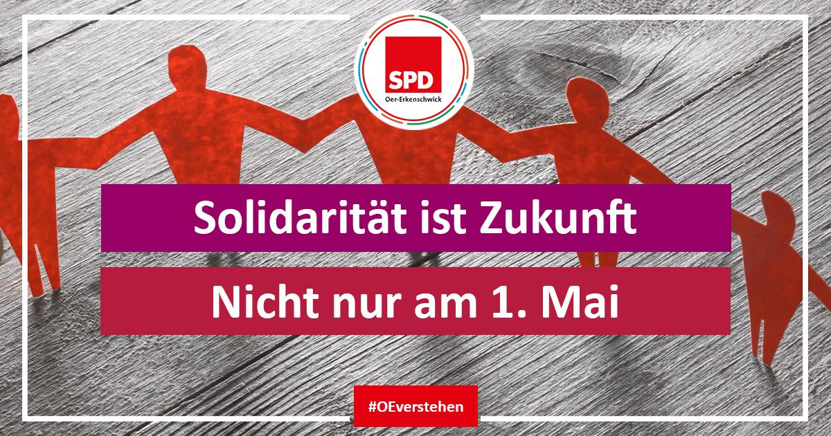 1. Mai mit Solidarität für die Zukunft - mehr soziale Politik in Oer-Erkenschwick