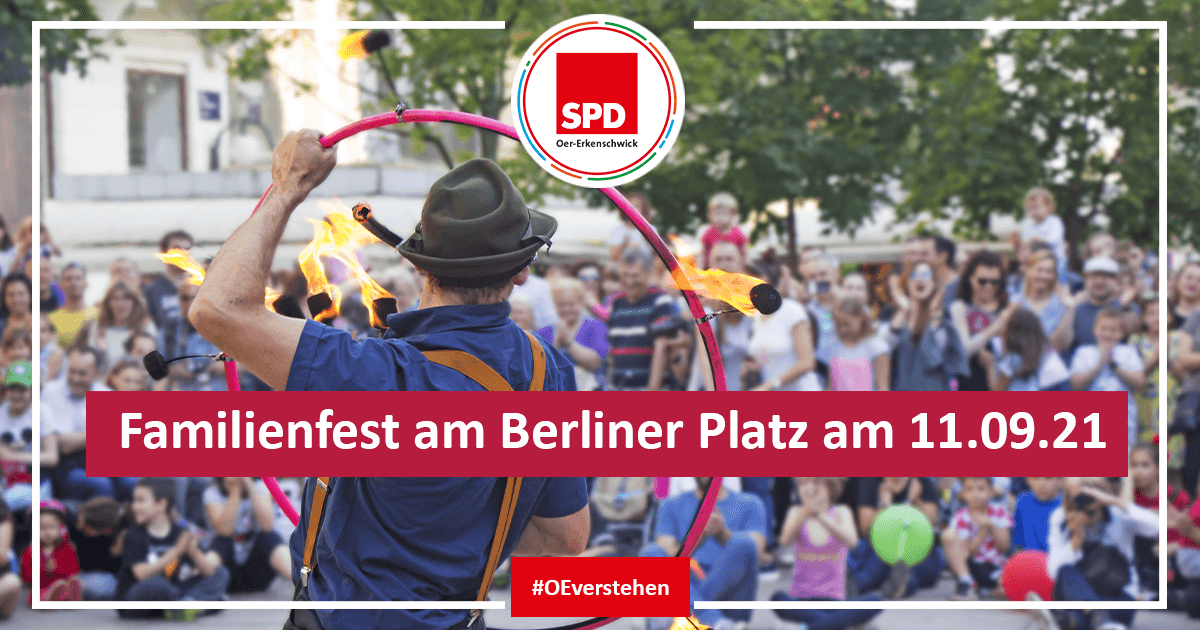 Familienfest am Berliner Platz am 11.09.21