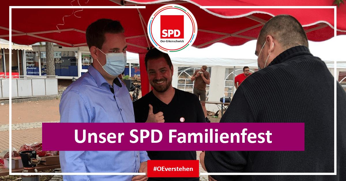Das Familienfest der SPD Oer-Erkenschwick