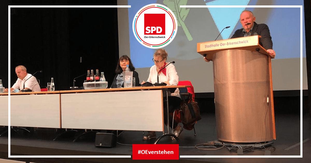 Peter Duscha bei der SPD Mitgliederversammlung