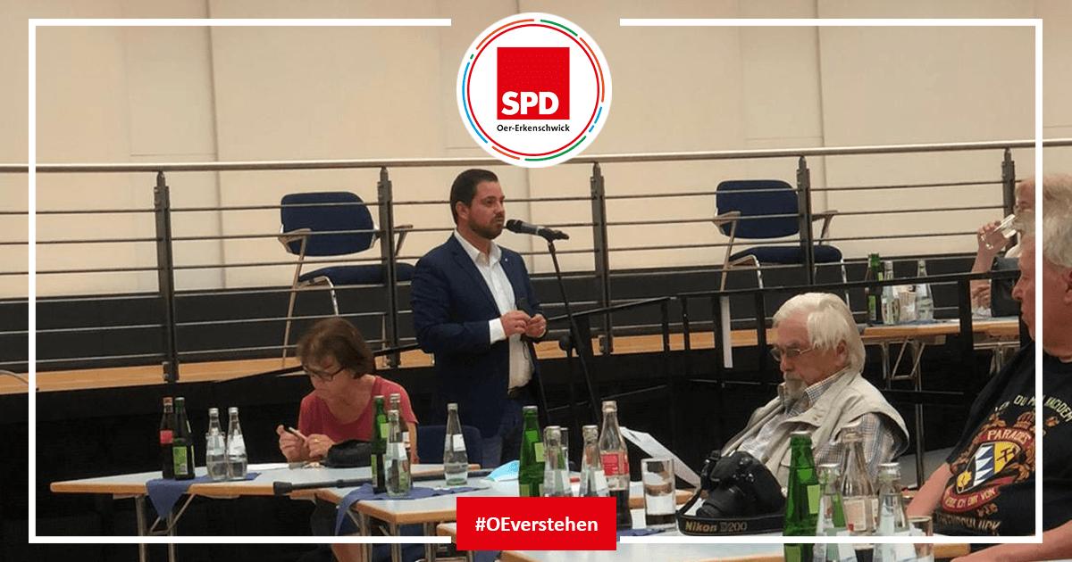 Mitgliederversammlung der SPD Oer-Erkenschwick in der Stadthalle