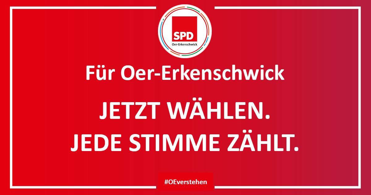 Am Sonntag SPD wählen