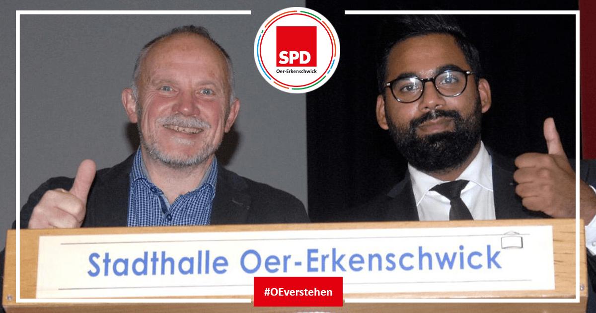 Statement SPD Oer-Erkenschwick zum Kandidaten für den Parteivorsitz